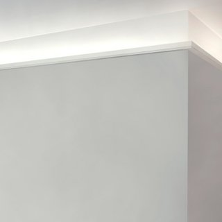 C361-Stripe LED Eckleisten-Profile indirekte Beleuchtung Stuck ORAC Decor Profi Lichtprofil LED